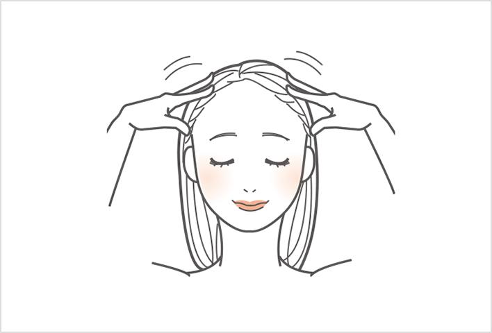 温和洗净头皮