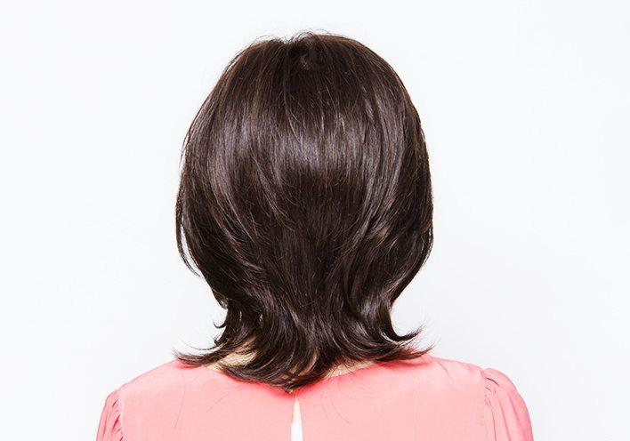 Mixed with human hair