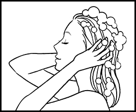 How to use HairRepro:Shampooing